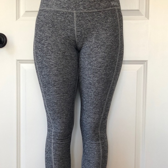 Pink Victorias Secret Ultimate Gray Athletic Yoga Leggings Pants Size X-small Activewear